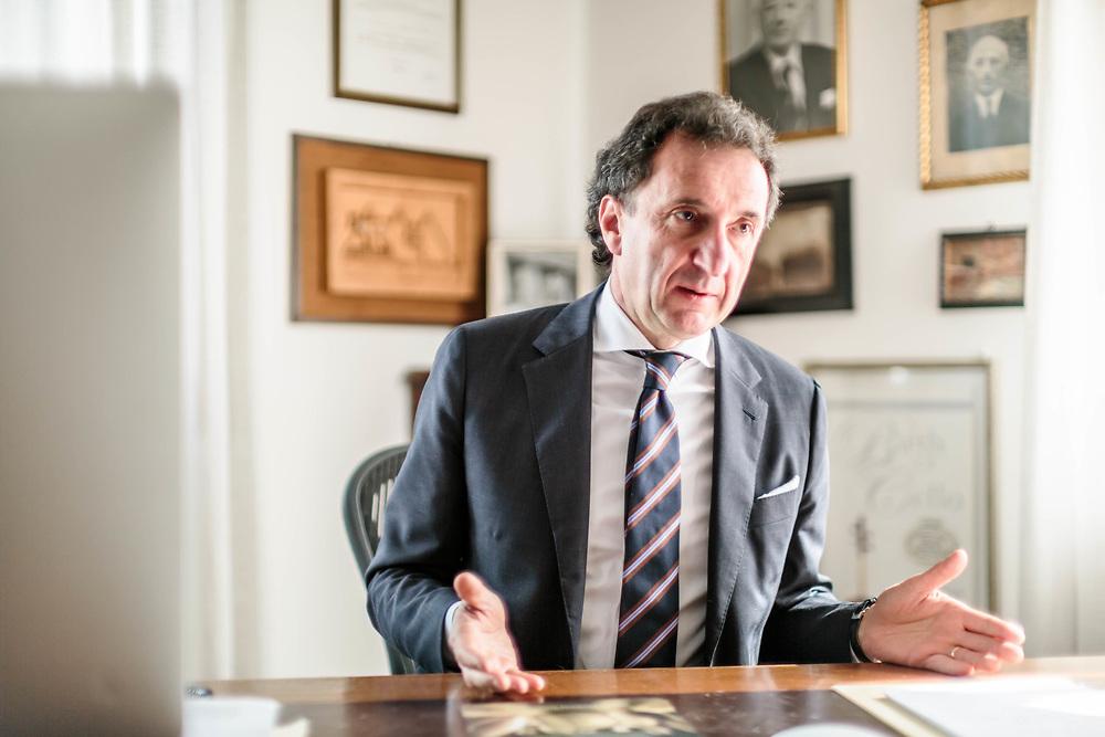 """16 MAR 2017 - Zanè (VI) - Caseificio """"Brazzale S.p.A."""": avv. Roberto Brazzale, titolare."""