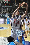 DESCRIZIONE : Cantu Lega A 2011-12 Bennet cantu Vanoli Braga Cremona<br /> GIOCATORE : Manuchar Markoishvili<br /> SQUADRA :  Bennet cantu <br /> EVENTO : Campionato Lega A 2011-2012 <br /> GARA : Bennet cantu Vanoli Braga Cremona<br /> DATA : 22/01/2012<br /> CATEGORIA : Penetrazione Tiro<br /> SPORT : Pallacanestro <br /> AUTORE : Agenzia Ciamillo-Castoria/ L.Goria<br /> Galleria : Lega Basket A 2011-2012 <br /> Fotonotizia : Cantu Lega A 2011-12  Bennet cantu Vanoli Braga Cremona<br /> Predefinita
