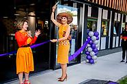 Koningin Máxima opent, als lid van het Nederlands Comité voor Ondernemerschap, Coding College Codam.
