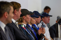 Offel Katharina (UKR) at the press conference<br /> Final Global Champions Tour - Abu Dhabi 2012<br /> © Hippo Foto - Cindy Voss