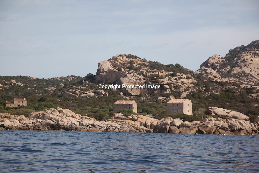 Corica South, Murtuli domain, luxury hotel in sheephouses with private beach in Tradicetto, Le domaine de kuxe de Murtuli , plage privée au bord de la mer