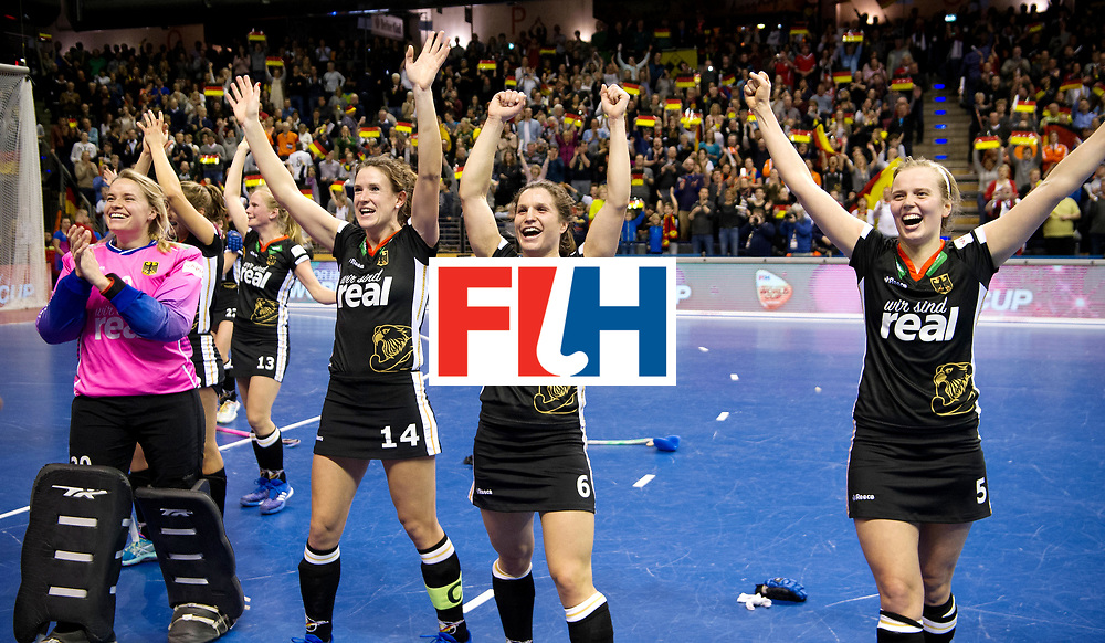 BERLIN - Indoor Hockey World Cup<br /> Final: Netherlands - Germany<br /> Germany wins the world championship.<br /> foto: <br /> WORLDSPORTPICS COPYRIGHT FRANK UIJLENBROEK
