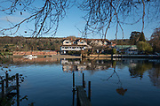 Henley, Oxfordshire. England General View; Leander Club, Henley, Berkshire <br /> Thursday  01/12/2016<br /> © Peter SPURRIER<br /> LEICA CAMERA AG  LEICA Q (Typ 116)  f1.7  1/4000sec  35mm  9.8MB