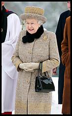 The Queen in Norfolk