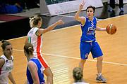 DESCRIZIONE : Roma Amichevole Pre Eurobasket 2015 Nazionale Italiana Femminile Senior Italia Ungheria Italy Hungary<br /> GIOCATORE : Giulia Gatti<br /> CATEGORIA : palleggio schema<br /> SQUADRA : Italia Italy<br /> EVENTO : Amichevole Pre Eurobasket 2015 Nazionale Italiana Femminile Senior<br /> GARA : Italia Ungheria Italy Hungary<br /> DATA : 15/05/2015<br /> SPORT : Pallacanestro<br /> AUTORE : Agenzia Ciamillo-Castoria/Max.Ceretti<br /> Galleria : Nazionale Italiana Femminile Senior<br /> Fotonotizia : Roma Amichevole Pre Eurobasket 2015 Nazionale Italiana Femminile Senior Italia Ungheria Italy Hungary<br /> Predefinita :