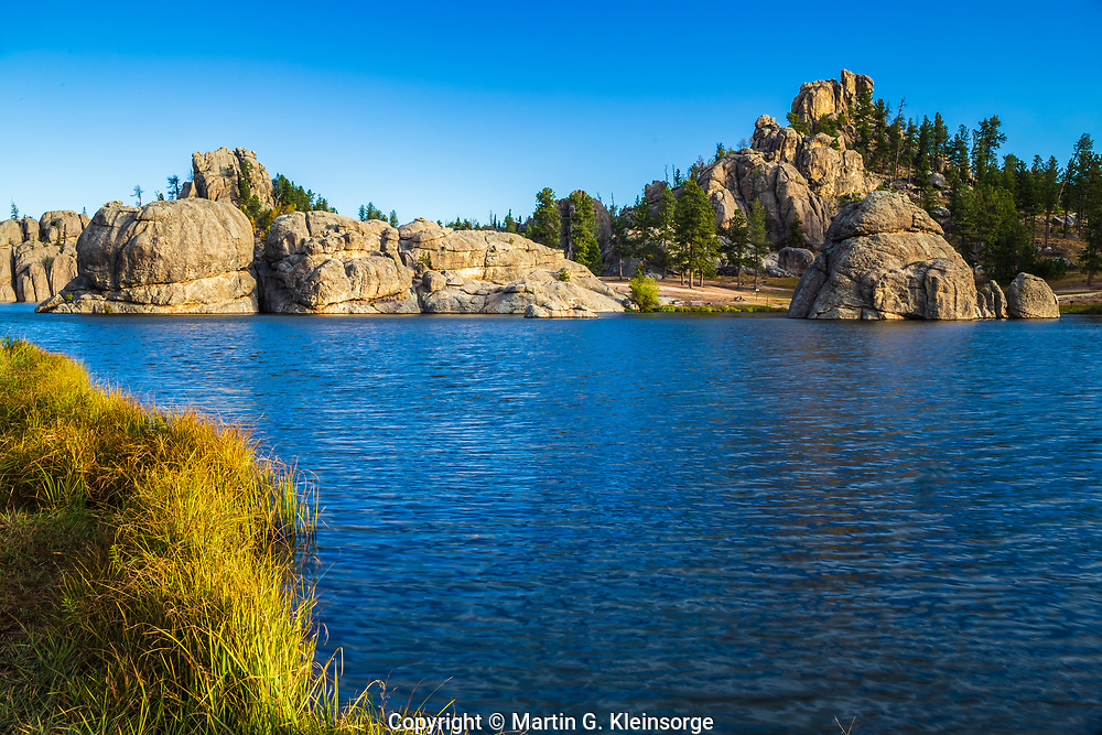 Sylvan Lake at Custer State Park.  South Dakota, USA.