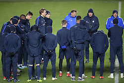 November 28, 2018 - Malmo, SWEDEN - Genk's head coach Philippe Clement pictured during the training session of Belgian soccer team KRC Genk in Malmo, Sweden, Wednesday 28 November 2018. Genk will meet Swedish club Malmo on the fifth day of the UEFA Europa League group stage, in group I. BELGA PHOTO YORICK JANSENS (Credit Image: © Yorick Jansens/Belga via ZUMA Press)