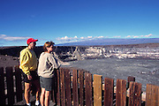 Halemaumau crater, Kilauea Volcano, HVNP, Island of Hawaii<br />