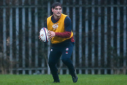 Sam Maunder of England Under 20s in action during training ahead of the Under 20s Six Nations - Mandatory by-line: Robbie Stephenson/JMP - 14/01/2020 - RUGBY - Loughborough University - Loughborough, England - England U20s Training