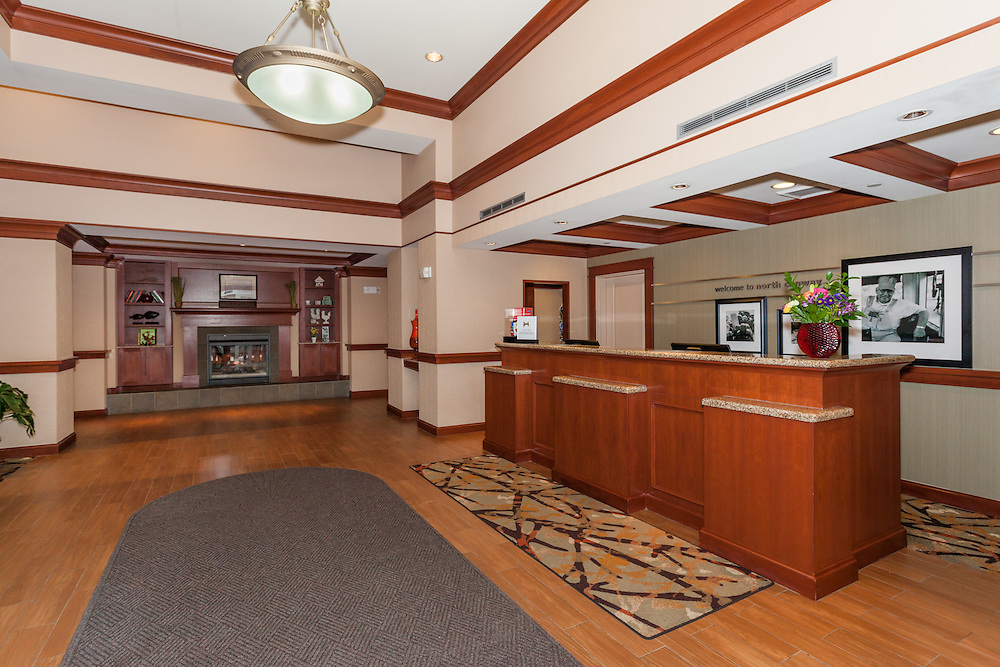 A photo shoot at the Hampton Inn and Suites in North Conway, New Hampshire