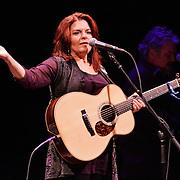 Rosanna Cash performs at Lisner Auditorium on February 14, 2014.