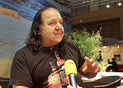 Berlin, Germany - 18 October 2012<br /> Porn star Ron Jeremy promoting his 'Ron Jeremy' brand of rum at the Venus Berlin 2012 adult industry exhibition in Berlin, Germany. Ron Jeremy, born Ronald Jeremy Hyatt, has been an American pornographic actor since 1979. He faces sexual assault allegations which he strenuously denies. There is no suggestion that any of the people in these pictures have made any such allegations.<br /> www.newspics.com/#!/contact<br /> (photo by: EQUINOXFEATURES.COM)<br /> Picture Data:<br /> Photographer: Equinox Features<br /> Copyright: &copy;2012 Equinox Licensing Ltd. +448700 780000<br /> Contact: Equinox Features<br /> Date Taken: 20121018<br /> Time Taken: 12150288