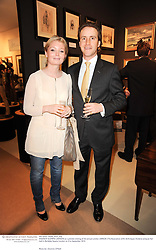ANDREW & EMMA LAWSON at a preview evening of the annual London LAPADA (The Association of Art & Antiques Dealers) antiques Fair held in Berkeley Square, London on 21st September 2010. *** Local Caption *** Image free to use for 1 year from image capture date as long as image is used in context with story the image was taken.  If in doubt contact us - info@donfeatures.com<br /> ANDREW & EMMA LAWSON at a preview evening of the annual London LAPADA (The Association of Art & Antiques Dealers) antiques Fair held in Berkeley Square, London on 21st September 2010.