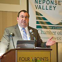 Joseph Petrowski, CEO Gulf Oil/Cumberland Farms Group, guest speaker at NVCC 115th Annual Meeting and Awards Breakfast