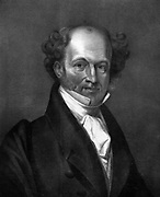 Martin Van Buren (1782-1862) Eighth President of the United States of America (1837-1841), the first President to be born an American citizen.   Engraving.