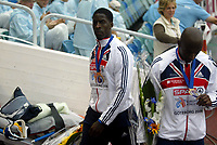 Friidrett , 13. juli 2006 , Gøteborg , EM ,<br /> Europamesterskapet ,<br /> Athletics , European  Championship <br /> 396  , Dwain Chambers    <br /> <br /> GBR , 4x100 m
