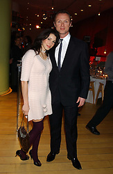 GARY & LAUREN KEMP at a Burns Night supper in aid of Clic Sargent & Children's Hospital Association Scotland hosted by Ewan McGregor, Sharleen Spieri and Lady Helen Taylor at St.Martin's Lane Hotel, 45 St Martin's Lane, London on 25th January 2006.<br /><br />NON EXCLUSIVE - WORLD RIGHTS