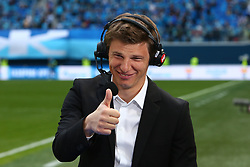 May 26, 2019 - St. Petersburg, Russia - Russian Federation. Saint-Petersburg. Gazprom-arena. Football. 30 tour of the Russian Premier League, Russian Premier League, Zenit - FC Yenisey, 4:1. Andrey Arshavin. (Credit Image: © Russian Look via ZUMA Wire)