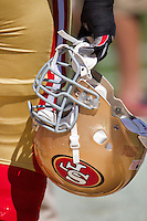 18 September 2011: The San Francisco 49ers play the Dallas Cowboys during the Cowboys 27-24 overtime victory against the 49ers in an NFL football game at Candlestick Park in San Francisco, CA.