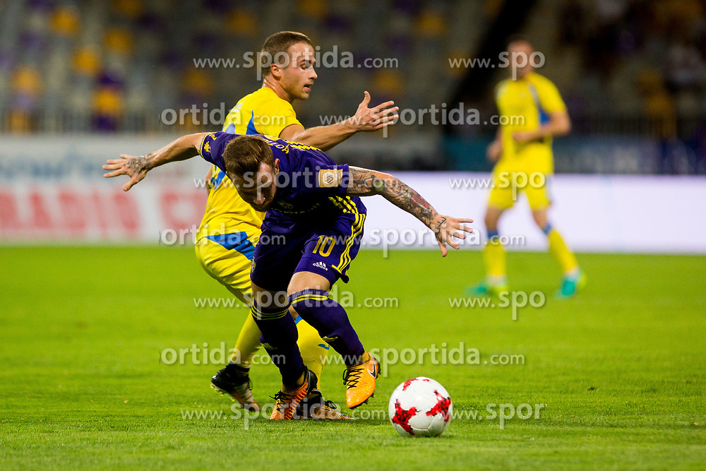 Dino Hotic of NK Maribor during football match between NK Maribor and NK Domzale in 5th Round of Prva liga Telekom Slovenije 2017/18, on August 11, 2017 in Ljudski vrt, Maribor, Slovenia. Photo by Ziga Zupan / Sportida