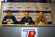 Teramo, 13 novembre 2007<br /> Raduno Nazionale Maschile Italiana<br /> Nella foto: mimmo cacciuni carlo recalcati<br /> Foto Ciamillo