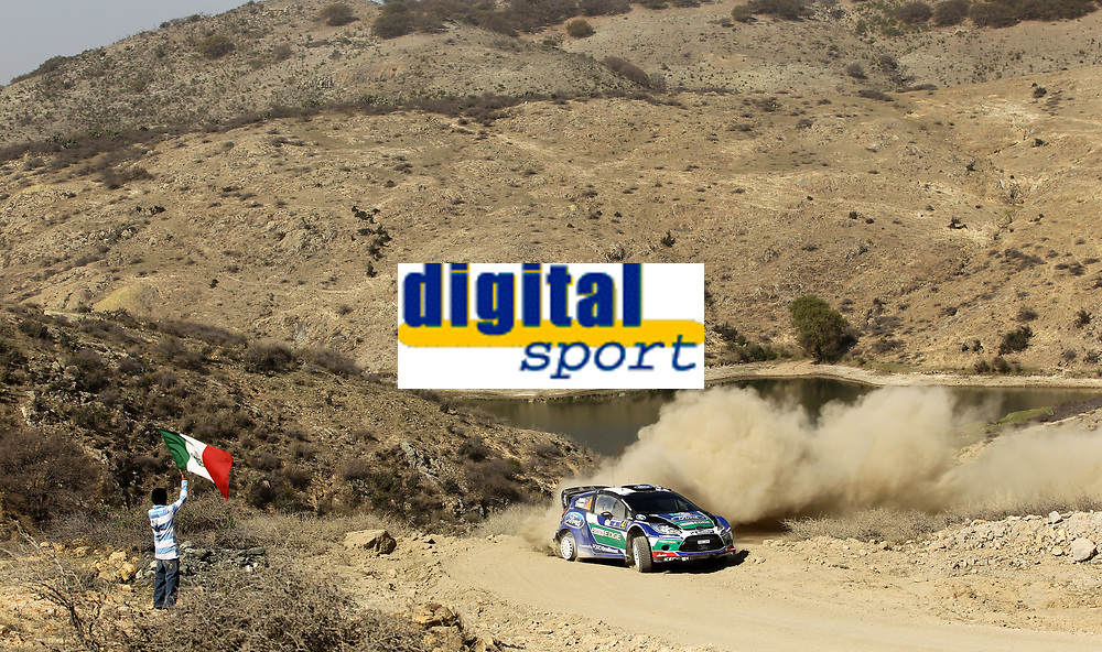 MOTORSPORT - WORLD RALLY CHAMPIONSHIP 2012 - RALLY GUANAJUATO MEXICO / RALLYE DU MEXIQUE - 08 TO 12/03/2012 - PHOTO : FRANÇOIS BAUDIN / DPPI - 04	SOLBERG Petter - PATTERSON Chris / FORD FIESTA - WRC / Action