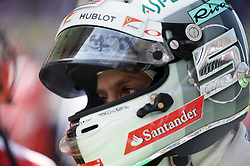Formel 1: GP von Mexiko 2016 - Rennen in Mexiko-Stadt / 301016<br /> <br /> ***Sebastian Vettel (GER) Ferrari on the grid.<br /> 30.10.2016. Formula 1 World Championship, Rd 19, Mexican Grand Prix, Mexico City, Mexico, Race Day.<br />  Copyright: Price / XPB Images / action press ***