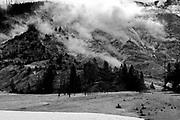 Yellowstone National Park landscape images, Wyoming