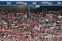 FOOTBALL - FRENCH CHAMPIONSHIP 2012/2013 - L1 - LILLE OSC v AS NANCY LORRAINE - 17/08/2012 - PHOTO CHRISTOPHE ELISE / DPPI - SUPPORTERS (LOSC)