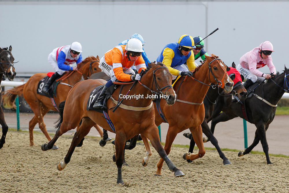 Sweet Ovation and William Buick winning the 3.00 race