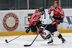 Roland Kaspitz of Olimpija during ice hockey match between HDD SIJ Acroni Jesenice and HDD Telemach Olimpija, on August 29 in Dvorana Podmezaklja, Jesenice, Slovenia. Photo by Matic Klansek Velej / Sportida