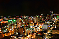 Downtown Portland @ Night