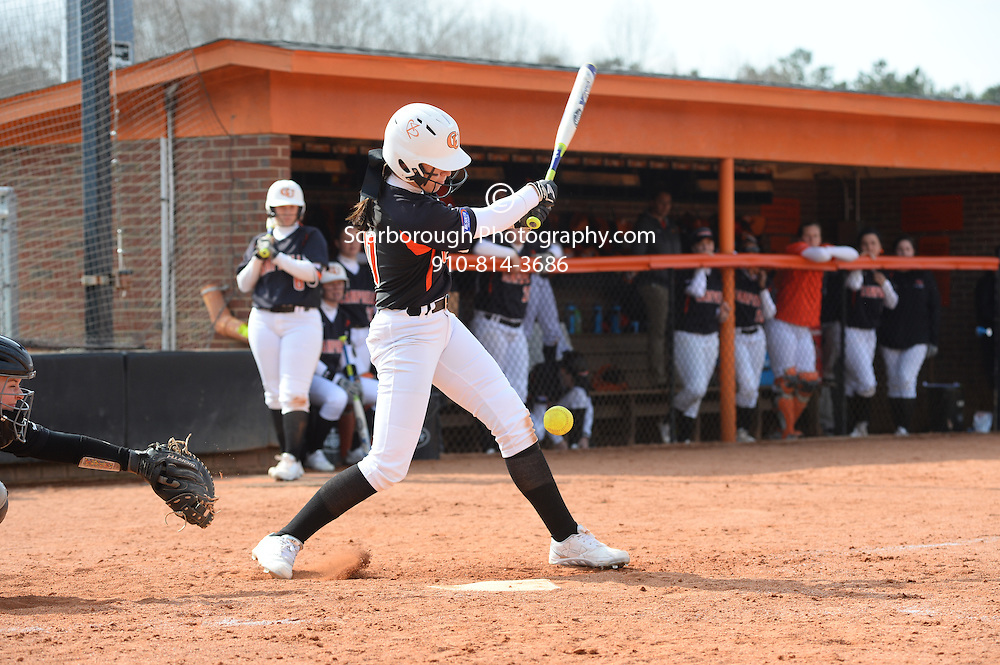 BUIES CREEK, NC - MARCH 5th, 2016 Campbell University Softball vs App St