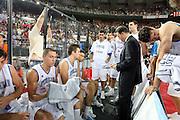 DESCRIZIONE : Roma Amichevole preparazione Eurobasket 2007 Italia Grecia <br /> GIOCATORE : Carlo Recalcati, Team<br /> SQUADRA : Nazionale Italia Uomini <br /> EVENTO : Amichevole preparazione Eurobasket 2007 Italia Grecia <br /> GARA : Italia Grecia <br /> DATA : 30/08/2007 <br /> CATEGORIA : Ritratto<br /> SPORT : Pallacanestro <br /> AUTORE : Agenzia Ciamillo-Castoria/G.Ciamillo