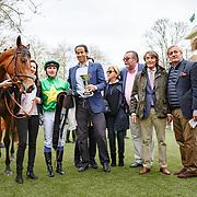 Coeur de Beaute  (S. Pasquier) wins Prix Imprudence Gr.3 in Deauville, France 09/04/2018, photo: Zuzanna Lupa