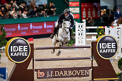 HASSMANN Felix (GER), SL Brazonado<br /> Leipzig - Partner Pferd 2019<br /> IDEE Kaffe Preis<br /> CSI5*<br /> 18. Januar 2019<br /> © www.sportfotos-lafrentz.de/Stefan Lafrentz
