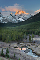 Sunrise over the Spray Range, Kananaskis Country Alberta