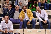 DESCRIZIONE : Siena Lega A 2013-14 Montepaschi Siena vs EA7 Emporio Armani Milano playoff Finale gara 3<br /> GIOCATORE : Fabio Facchini Franco Del Moro Marco Giansanti<br /> CATEGORIA : Vip <br /> SQUADRA : <br /> EVENTO : Finale gara 3 playoff<br /> GARA : Montepaschi Siena vs EA7 Emporio Armani Milano playoff Finale gara 3<br /> DATA : 19/06/2014<br /> SPORT : Pallacanestro <br /> AUTORE : Agenzia Ciamillo-Castoria/GiulioCiamillo<br /> Galleria : Lega Basket A 2013-2014  <br /> Fotonotizia : Siena Lega A 2013-14 Montepaschi Siena vs EA7 Emporio Armani Milano playoff Finale gara 3<br /> Predefinita :
