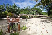 Thailand, Ko Kradan. The Sevenseas Resort.