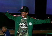 Gianni Harrell (son of Andre Harrell) Baby Phat Fashion Show at Radio City Music Hall VIP Section
