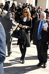 TRINNY WOODALL at the memorial service of Isabella Blow held at the Guards Chapel, London W1 on 18th September 2007.<br /><br />NON EXCLUSIVE - WORLD RIGHTS