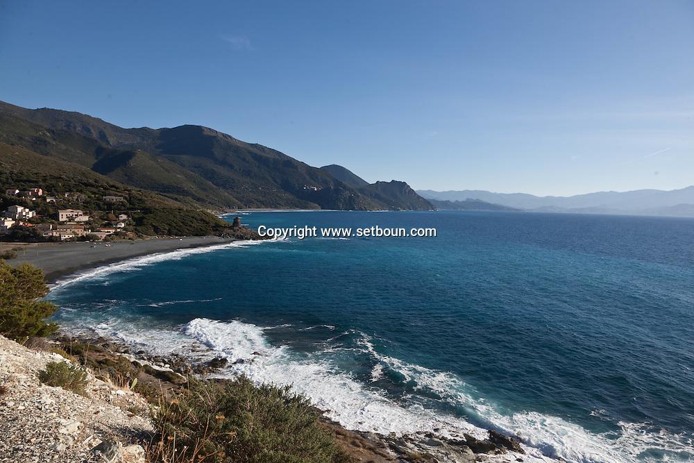Corsica. France. marine d albo  in Cap Corse, Corsica North, France / marine d Albo au cap Corse
