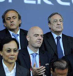 - Photo mandatory by-line: Joe Meredith/JMP - Mobile: 07966 386802 12/08/2014 - SPORT - FOOTBALL - Cardiff - Cardiff City Stadium - Real Madrid v Sevilla - UEFA Super Cup