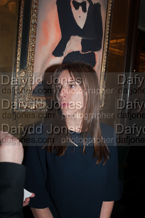 LAURA MONTANA, Vanity Fair Lunch hosted by Graydon Carter. 34 Grosvenor Sq. London. 14 May 2013