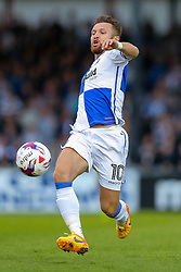 Matt Taylor of Bristol Rovers in action - Rogan Thomson/JMP - 11/08/2017 - FOOTBALL - Memorial Stadium - Bristol, England - Bristol Rovers v Cardiff City - EFL Cup First Round.