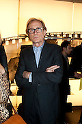 BILL NIGHY, Vogue: Fashion's Night Out: Miller Harris shop, New Bond Street, London. 8 September 2010.  -DO NOT ARCHIVE-© Copyright Photograph by Dafydd Jones. 248 Clapham Rd. London SW9 0PZ. Tel 0207 820 0771. www.dafjones.com.