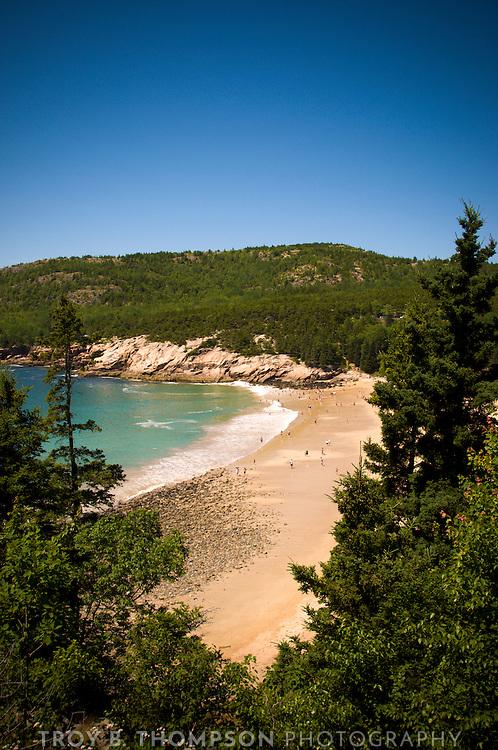 Sand Beach, Newport Cove.Great Head Trail