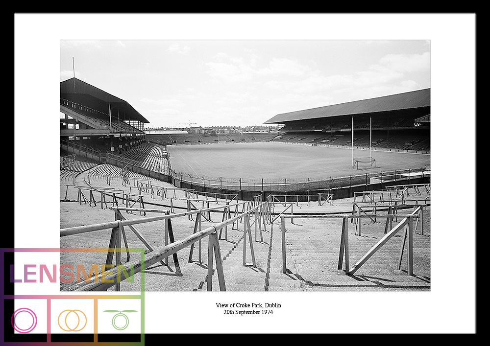 Croke Park is a GAA stadium in Dublin. The stadium is mostly used for gaelic sports like football, rugby and hurling.<br />