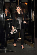 01.MAY.2013. LONDON<br /> <br /> KIM KARDASHIAN LEAVING THE DORCHESTER HOTEL TO HEAD TO THE O2 ARENA IN GREENWICH TO SEE BEYONCE PERFORM IN CONCERT AT HER MRS CARTER WORLD TOUR.<br /> <br /> BYLINE: EDBIMAGEARCHIVE.CO.UK<br /> <br /> *THIS IMAGE IS STRICTLY FOR UK NEWSPAPERS AND MAGAZINES ONLY*<br /> *FOR WORLD WIDE SALES AND WEB USE PLEASE CONTACT EDBIMAGEARCHIVE - 0208 954 5968*