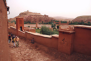Morocco, High Atlas Mountains, Ait Benhaddou Kasbah